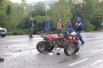 Çan'da Trafik Kazası Açıklaması 2 Yaralı