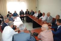 MEHMET CAN - Dağtekin İl Genel Meclisi Üyeleriyle Biraya Geldi