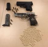 YEDITEPE - Gaziantep'te Şüphe Üzerinde Durdurulan Araçlardan Silah Ve Uyuşturucu Çıktı
