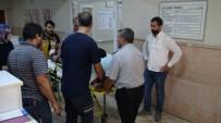 Gercüş'te Hastane Duvar Çöktü Açıklaması 1 İşçi Yaralandı