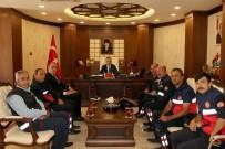 İTFAİYE MÜDÜRÜ - İtfaiye Personelinden Vali Toprak'a Ziyaret