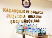 ALKOLLÜ İÇKİ - Kaçak İçkileri Yabancı Bandrolle Piyasa Süren Şahıs Yakalandı