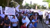 ASGARI ÜCRET - KKTC'de Hükümet Karşıtı Protesto