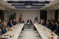 YOLCU TAŞIMACILIĞI - KTO'dan Başkan Çelik'e Ziyaret