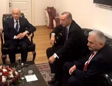 Cumhurbaşkanı Erdoğan'dan MHP ile ittifak açıklaması
