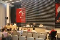 ENGELLİ RAMPASI - Mezitli Belediye Meclisi, Yeni Binada İlk Toplantısını Yaptı