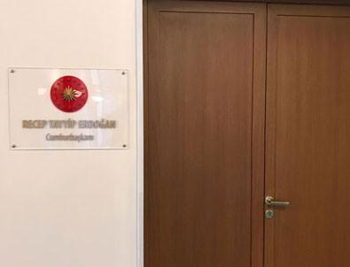 O oda Cumhurbaşkanı Erdoğan'ın