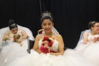 8 Geline Damatsız Düğün...Engelli Genç Kızların Gelinlik Hayali Gerçek Oldu