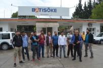 TAŞERON FİRMA - Söke'de Çimento Fabrikasında Çalışan İşçilerin Para Alamadıkları İddiası