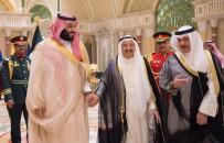 SAMIMIYET - Suudi Arabistan'ın Veliaht Prensi Muhammed Bin Selman Kuveyt Emiri'nin Burnunu Öptü