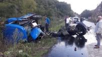 20 DAKİKA - Ordu'da feci kaza! Traktör ikiye ayrıldı...