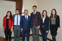 SIRKECI - Uysal, Kdz. Ereğli Hukukçular Derneğini Yönetimini Kabul Etti