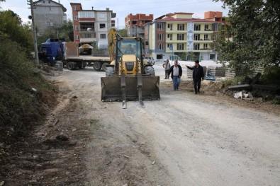 230. Sokak'ta Yol Ve Parke Çalışmaları Başladı