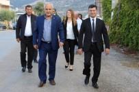 SABAH NAMAZı - Başkan Akın, Çalışmalarına Hız Verdi