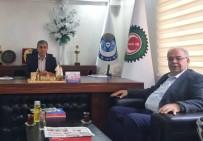 HIZMET İŞ SENDIKASı - Belediye Başkanı Kutlu Kılınç İle Bir Araya Geldi