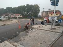 BEYKÖY - Beyköy Yolunda Kavşak Çalışması Başladı
