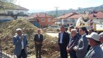 FATİH ÇALIŞKAN - Çatak Köyü Camii'nin Temeli Atıldı
