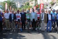 TÜRKIYE BISIKLET FEDERASYONU - Cumhurbaşkanlığı Bisiklet Turu Alanya-Antalya Etabı Başladı