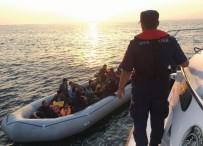 KAÇAK GÖÇMEN - Didim'de 50 Kaçak Göçmen Yakalandı