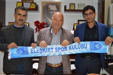 Eleşkirtspor Yönetiminden Başkan Seferoğulları'na Ziyaret
