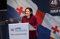 MUHALEFET PARTİLERİ - Gürcistan Cumhurbaşkanı Adayı Zurabişvili Türklerle Bir Araya Geldi