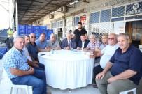 TOPTANCI HALİ - Hal Esnafından Serik Belediyespor'a Destek