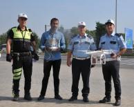 ŞERİT İHLALİ - Hatalı Sürücüler 'Drone'a Yakalandı