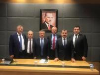 MECLİS BAŞKANLARI - Keleş Ve Ekibi Zonguldak Milletvekillerine Dosya Sundu