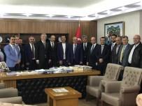 SEÇİM SÜRECİ - KTO Yönetimi MHP İl Başkanı Serkan Tok'u Ziyaret Etti