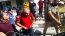 Osmaniye'de Toprak Altında Kalan İşçi Kurtarıldı