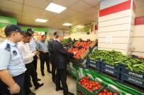 KıYAMET - Pazarcı Denetimiyle Gündeme Gelen Belediye Başkanından Marketlere Şok Baskın