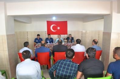 Sason'da Muhtarlarla Huzur Toplantısı Yapıldı