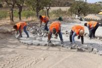 Siirt'te Bağ Yollarında Çalışmalar Devam Ediyor