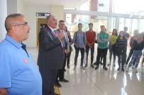 BALıKESIR ÜNIVERSITESI - Sivili Havacılık Öğrencilerine İlk Pratik Ders Koca Seyit Havalimanından