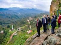 MIHENK TAŞı - Tarihi Ünye Kalesi Bir Yılda Turizme Hazır Olacak