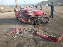 MADEN OCAĞI - Tavşanlı'da Trafik Kazası Açıklaması 1 Yaralı