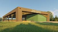 PAZARCI - Yeşilyurt Belediyesi, Çilesiz Semt Pazarı İnşaatına Hız Verdi