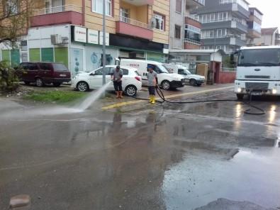 Yollar Yıkandı, Yabani Otlar Temizlendi