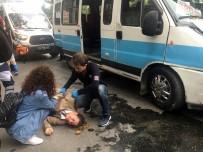 ZİNCİRLEME KAZA - Zincirleme Trafik Kazası Açıklaması 3 Yaralı