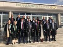 BAŞKAN ADAYI - Ankara Barosu Başkan Adayı Özdemir'den Şehit Ve Gazi Avukatlarına Ziyaret