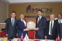 Murat Kurum - Bakan Kurum, İMKON'un Toplantısına Katıldı