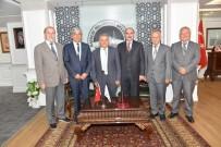 MUSTAFA ÜNAL - Başkan Memduh Büyükkılıç, Türk Ocakları Yönetim Kurulunu Misafir Etti