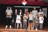 ÜMIT SONKOL - Basketbolcular Öğrencilerle Buluştu