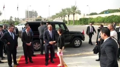 Çavuşoğlu, Irak Cumhurbaşkanı Salih İle Görüştü