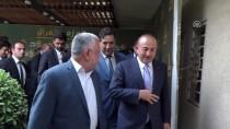 NECEF - Dışişleri Bakanı Çavuşoğlu, Hadi Amiri İle Görüştü