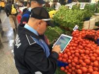 PAZAR ESNAFI - Gaziosmanpaşa'da Pazarlarda Etiket Ve Terazi Denetimi
