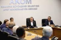 BİRİNCİ SINIF - Geyve Ve Akyazı'da Muhtarlar'dan Başkan Toçoğlu'na Ziyaret
