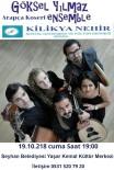 Göksel Yılmaz Ensemble'den Adana'da Konser