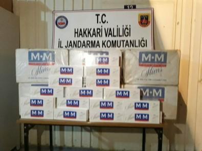 Hakkari'de 6 Bin Paket Kaçak Sigara Ele Geçirildi