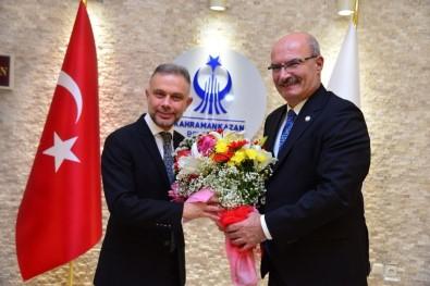 İş Dünyasından Başkan Ertürk'e Ziyaret